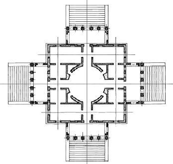 Plano Villa Rotonda