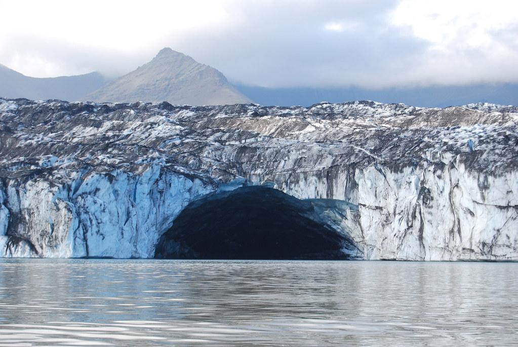 東アイスランドのバトナ氷河