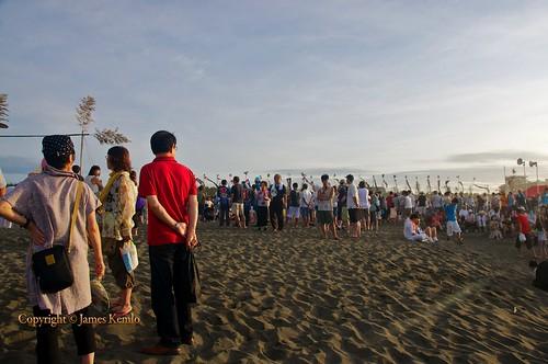 sea beach festival japan sunrise religion kanagawa superstition mikoshi chigasaki ©jameskemlo ©junpeihayakawa shintõ hamaorimatsuri