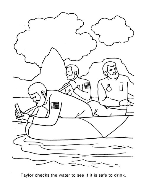 Planet of the Apes Coloring Book 0200009