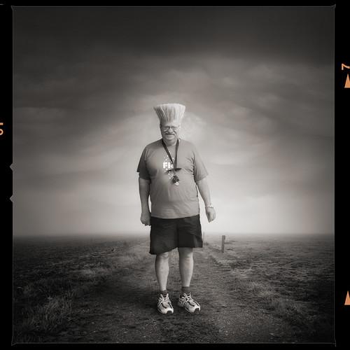 Mister Henri D. goes jogging