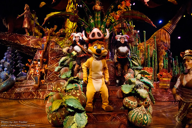 HKDL July 2011 - Festival of the Lion King