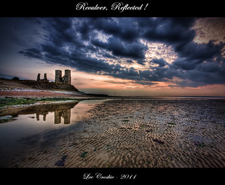 Reculver, reflected
