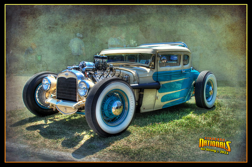 ford texture hotrod syracuse nationals hdr photomatix syracusenationals d80 3exp skeletalmess