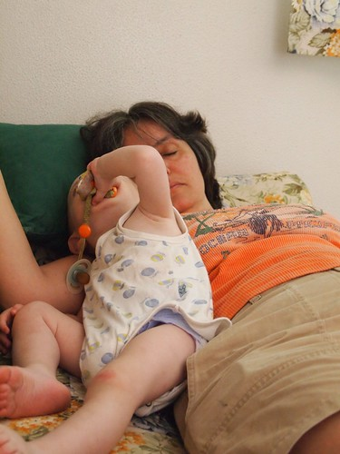 Matteo and Rosanne sleep