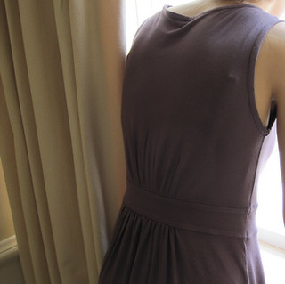 A new dress...view from the back