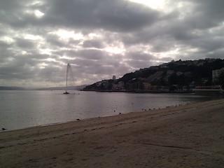 Image of Oriental Beach near Wellington.