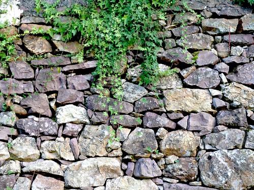 Mur pierres sèches