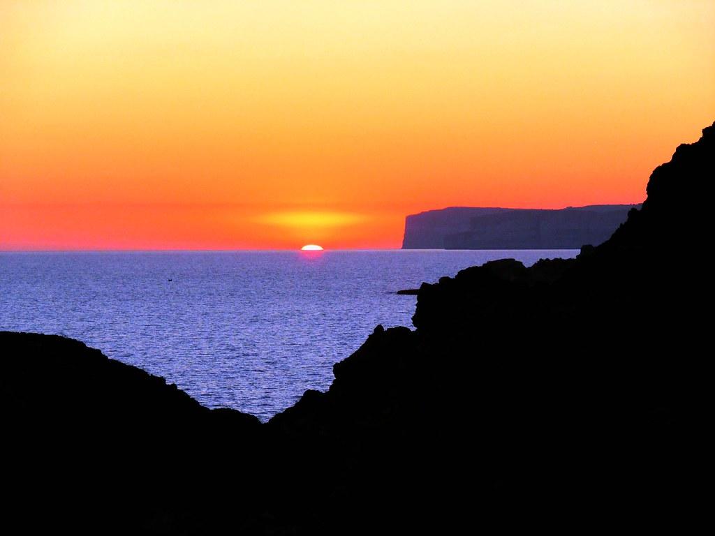 Mediterranean sunset, Il-Prajjet, Malta