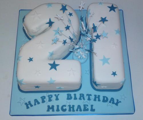 21st Birthday Cake Liz Flickr