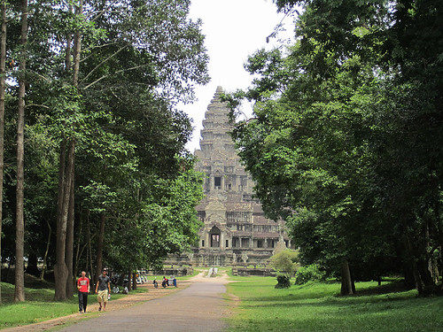 View of Angkor Wat's East Side