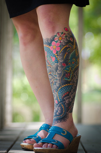 Cool dragon tattoos photos find me a tattoo for Jade dragon tattoo