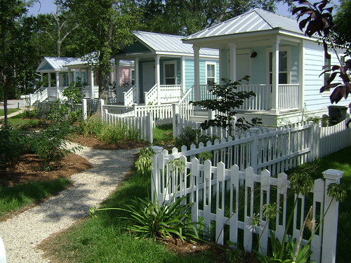 Katrina Cottages (via Seaside Academic Village)