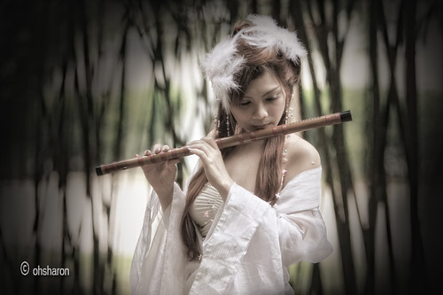 Lady with the Flute