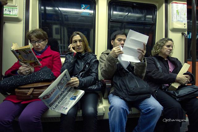 Metro, Madrid (Foto: Chris Valencia|flickr)