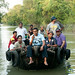 Passengers on Boat in Sundarbans, Bangladesh
