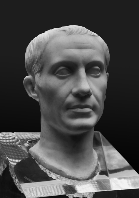 Portrait of Julius Caesar from the Pentelleria acropolis in Sicily. Photo: Robert B. Ulrich