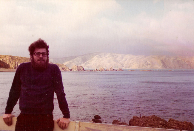 my dad, in new zealand, 1970s