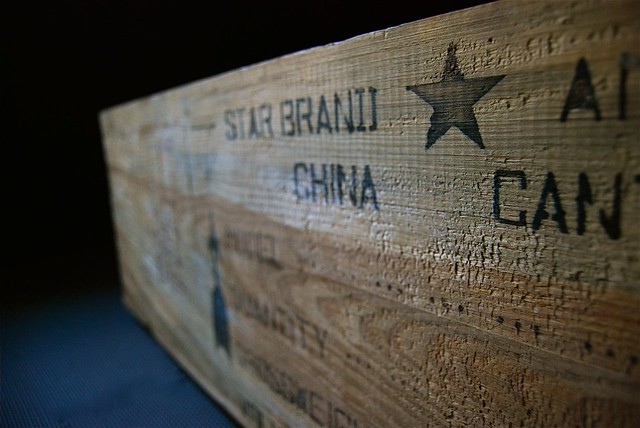 Wooden Crate Made in China Flickr - Photo Sharing!