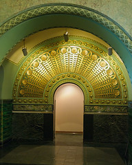 symmetry(0.0), temple(0.0), dome(0.0), arch(1.0), building(1.0), architecture(1.0), vault(1.0), arcade(1.0), crypt(1.0),