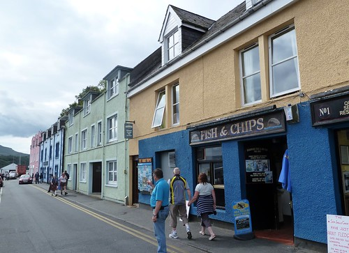 Fish and Chips, Portree Harbour