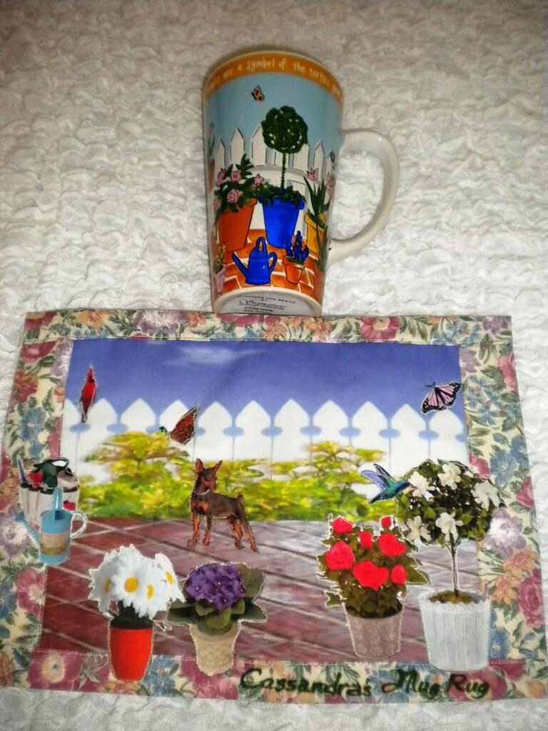 Garden Mug Rug