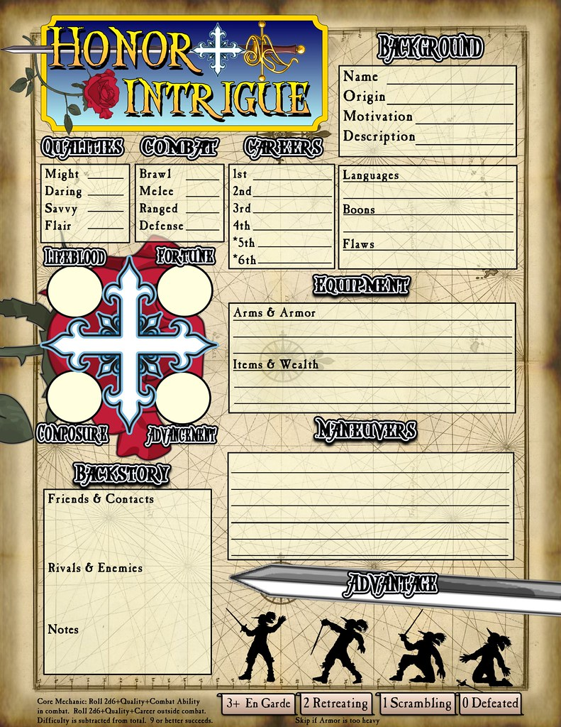 Character Design Quarterly Pdf Download : Seeking input on character sheet design page