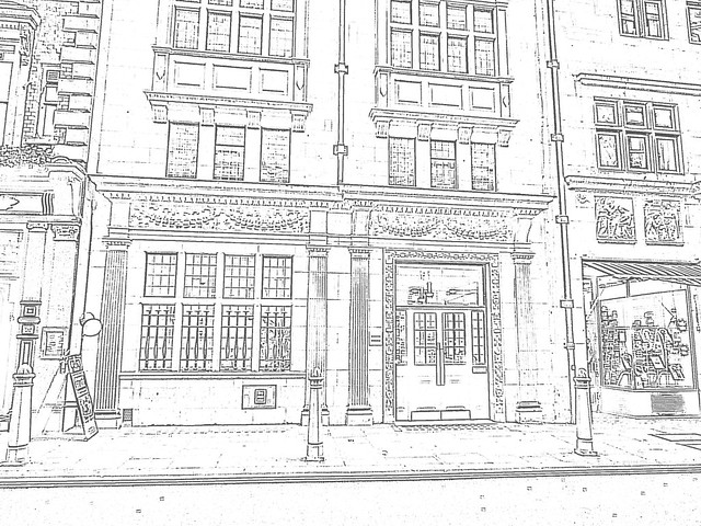 Street View Drawing Medium 640 × 480