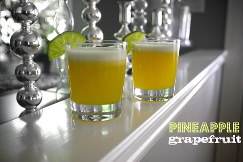 pineapple grapefruit juice! by shutterbean