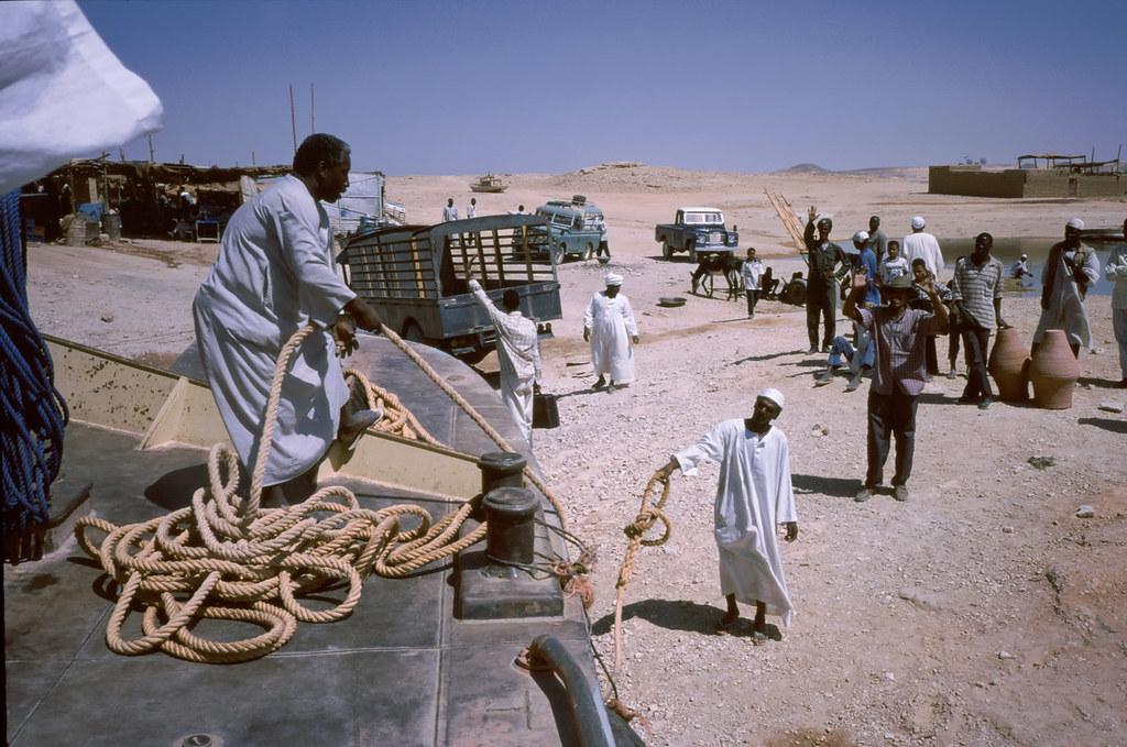 Leaving Wadi Halfa