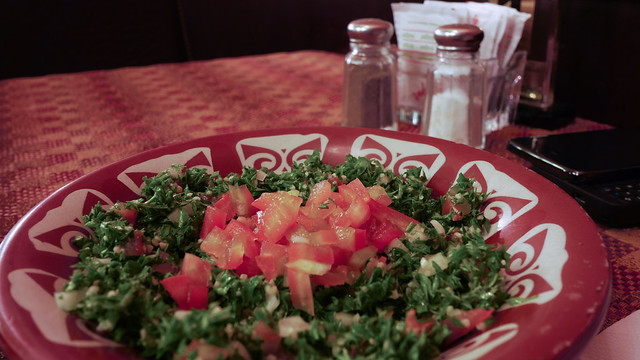 Tabouleh by CC user nseika on Flickr