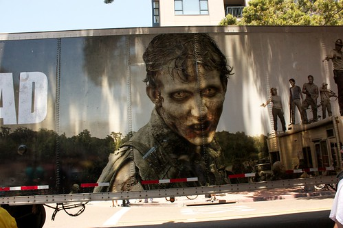 The walking dead, Walking Dead Truck