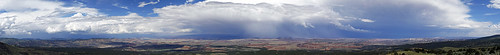 panorama usa sun storm clouds 510fav utah sandstone desert sunsets capitolreef storms cloudscapes cathedralvalley 100vistas instantfave weatherphotography ashotadayorso nopin orig:file=20110727eos30d13817stitch