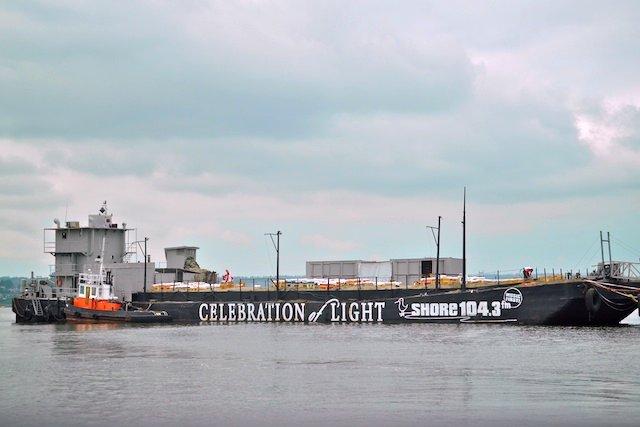 Celebration of Light Fireworks Barge