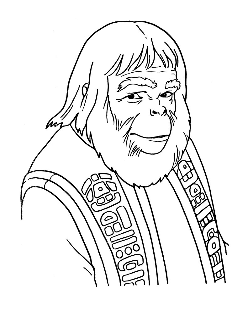 Planet of the Apes Activity Book 0200030