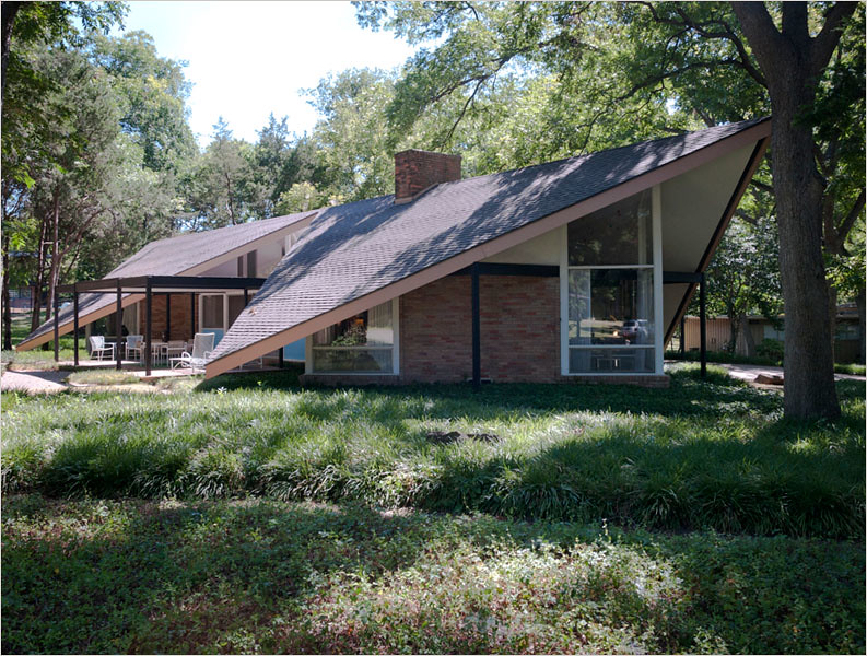 Mid Century Modern Home Dallas Lake Highlands Area