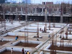 reinforced concrete, foundation, construction,