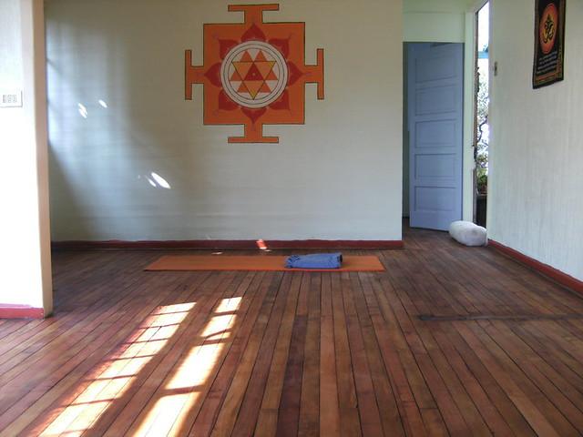 Durga Yantra (sala de Yoga de mi hermano)