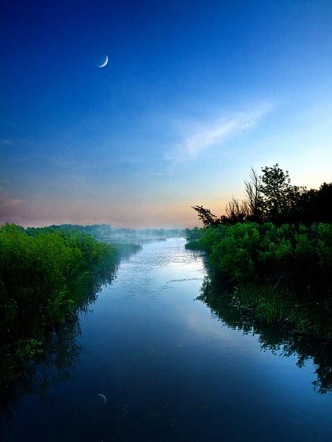 Blue Moon Morn