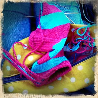 Summer car knitting