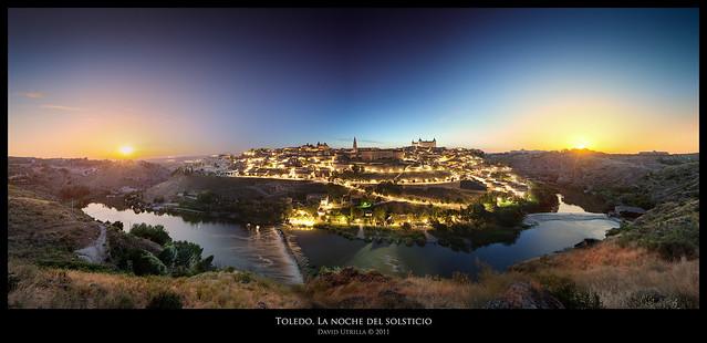 Toledo, la noche del solsticio