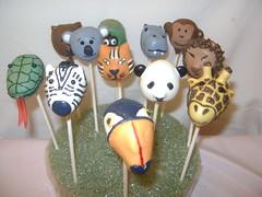 Zoo Animal Cake Pops (1)