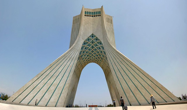 Azadi Tower by CC user christiaantriebert on Flickr