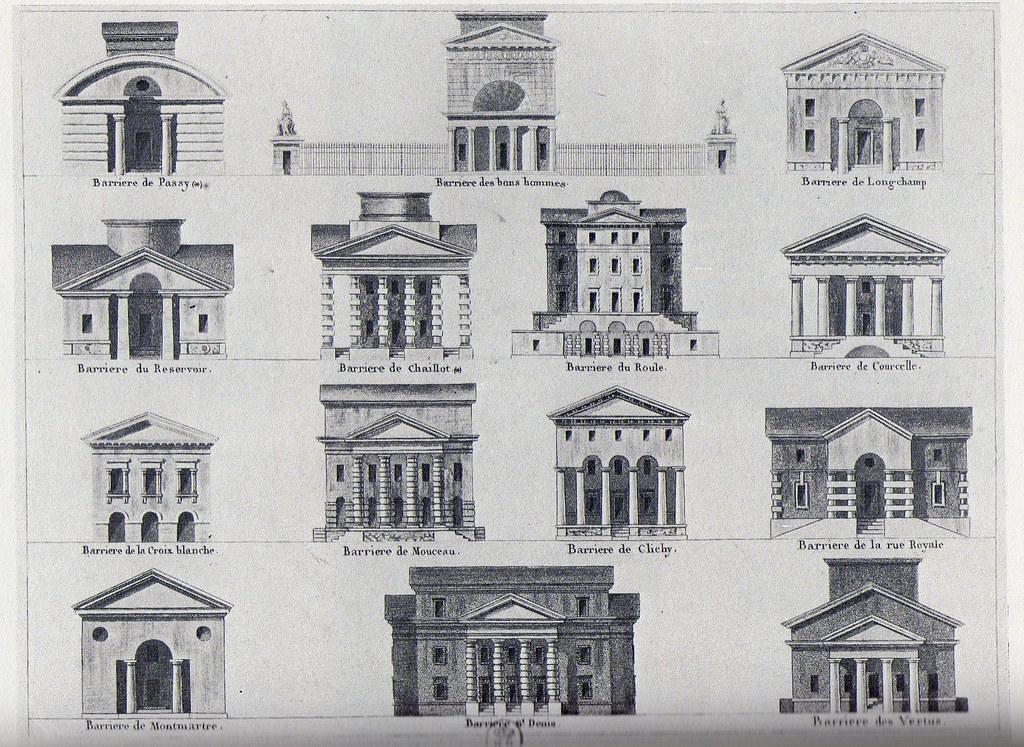 barri res de paris 1784 1787 architecte claude nicolas ledoux a photo on flickriver. Black Bedroom Furniture Sets. Home Design Ideas