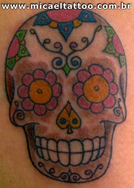 Tatuagem Sugar Skull Tattoo