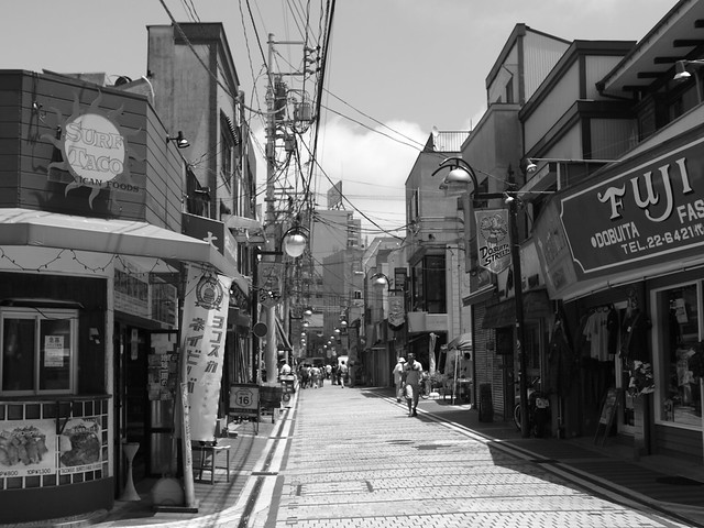 Yokosuka afternoon street. Japan, Jul 2011. 033