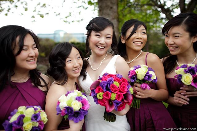 Purple Magenta wedding