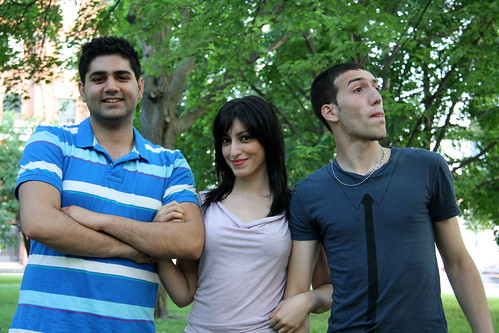 the three iranians