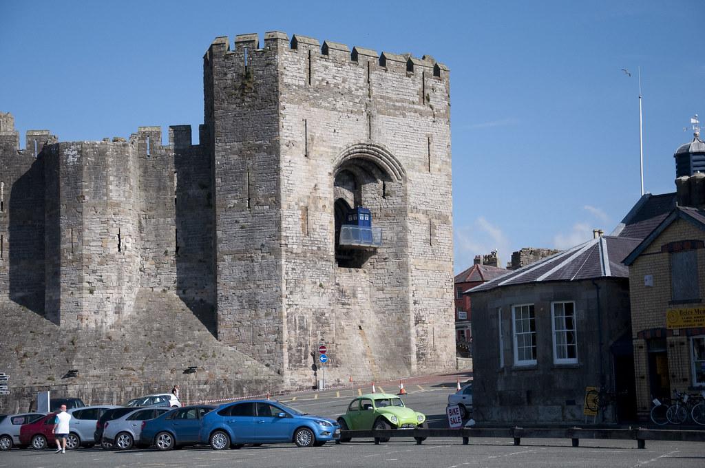 Dr Who & Caernarfon Castle