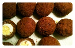 chocolate truffle, croquette, produce, food, dish, cuisine, falafel,